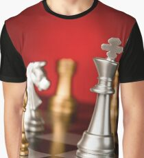 Silver VS Gold Graphic T-Shirt