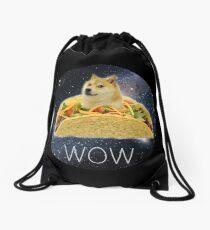 Taco Doge Drawstring Bag