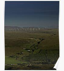 Wind Farms on Inishowen Peninsula Poster