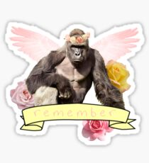 Remember Harambe Sticker