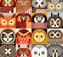 North American Owls by Scott Partridge