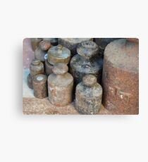 Weights  Canvas Print