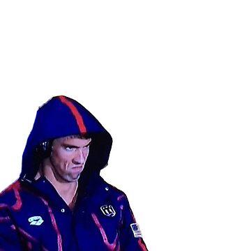 Phelps Face by wheresbolivia