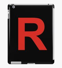 team rocket  iPad Case/Skin