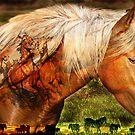 Mustang Sunrise by Ellen  Holcomb