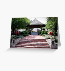 The Beautiful Riverfront Gardens Greeting Card