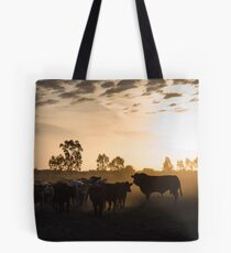 Cow Dust Tote Bag