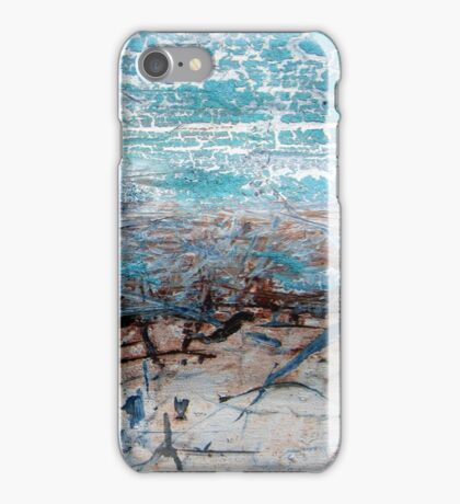Expressions in Blue iPhone Case/Skin
