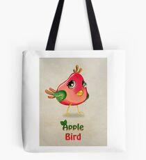 Apple Bird Tote Bag