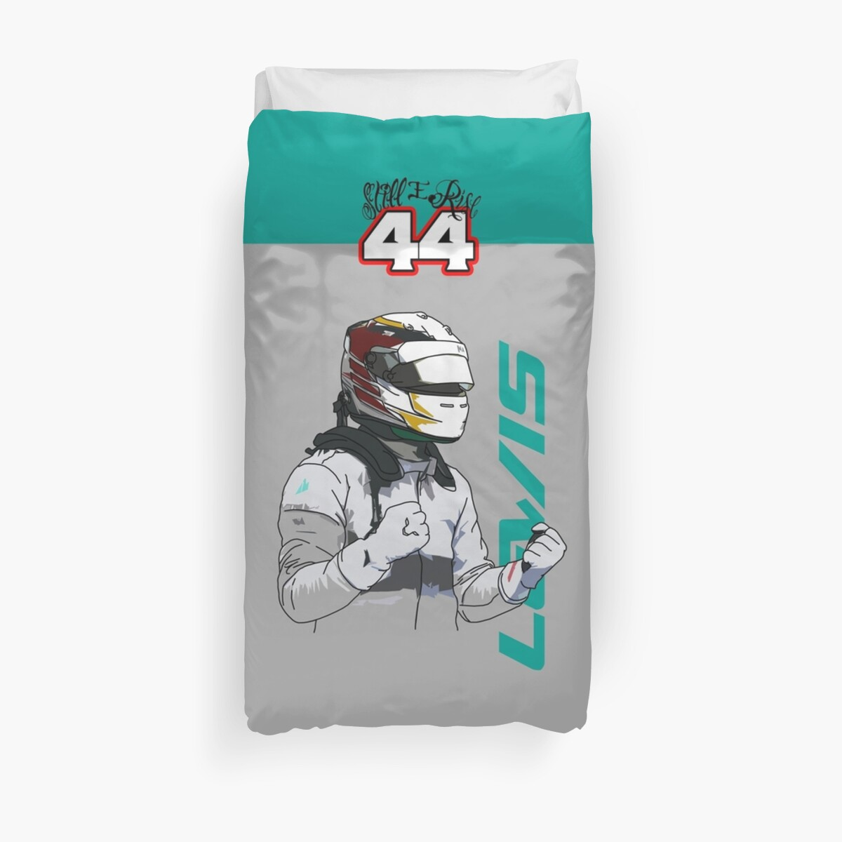 Quot Lewis Hamilton Still I Rise Quot Duvet Covers By Tom Clancy
