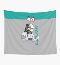 Lewis Hamilton - Still I Rise Wall Tapestry