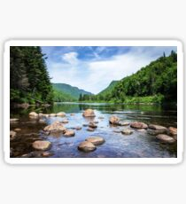 Jacques Cartier River Sticker