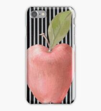 Red apple iPhone Case/Skin