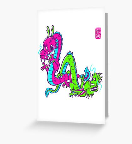 L.A. dragons Greeting Card