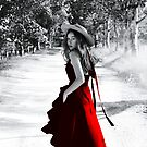 Alycia Debnam-Carey Glamour Art by Evelyn Ulrich