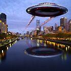 UFO Melbourne by Tom Godfrey