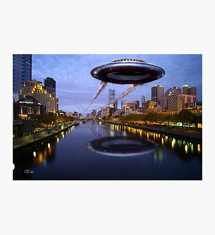 UFO Melbourne Photographic Print