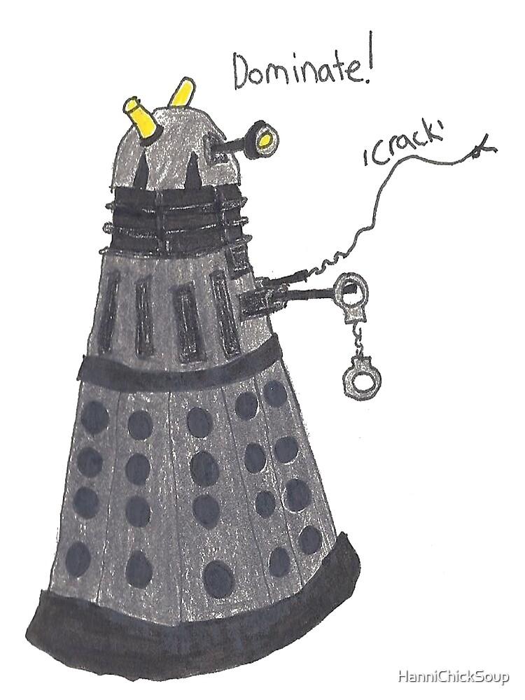 Domination Dalek  by HanniChickSoup