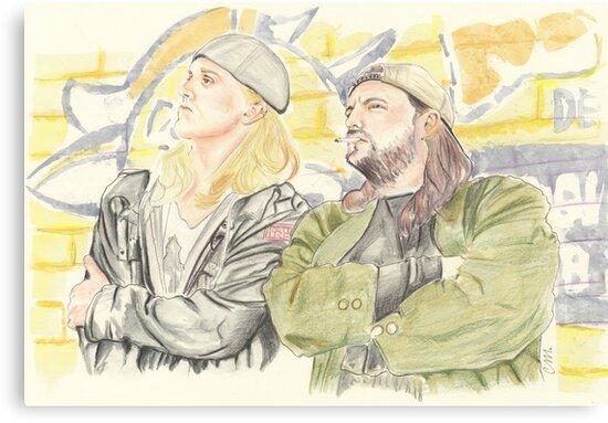 Jay and Silent Bob. by Troglodyte