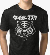 CLASSIC TIGER MASK JAPANESE MANGA JAPAN PRO WRESTLING  Tri-blend T-Shirt