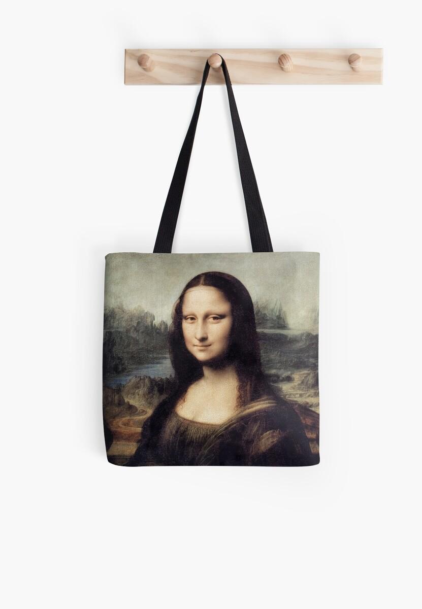 Mona Lisa by Leonardo Da Vinci by Vintage Designs