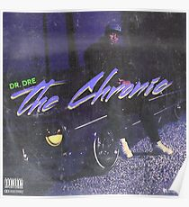 Dr. Dre - The Chronic (fan made album cover) Poster