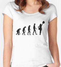 Evolution cheerleading Women's Fitted Scoop T-Shirt
