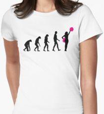 Evolution cheerleading Women's Fitted T-Shirt