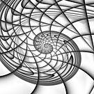 Spiral in Monochrome by Mark Eggleston
