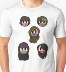 Yandere Simulator - Delinquent Girls Unisex T-Shirt