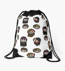 Yandere Simulator - Delinquent Girls Drawstring Bag