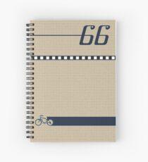 Pedal 66 Spiral Notebook