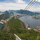 Panorama of Rio de Janeiro from atop Sugarloaf Mountain by Ben Ryan