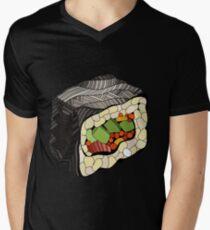 Sushi illustration Men's V-Neck T-Shirt