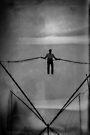 The Amazing Gravity Defying Man - Brighton - England by Bryan Freeman