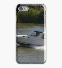 Powerful Motor Boat iPhone Case/Skin