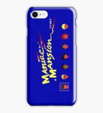 Maniac Mansion iPhone Case/Skin