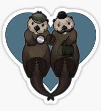 Otterly Johnlock Sticker