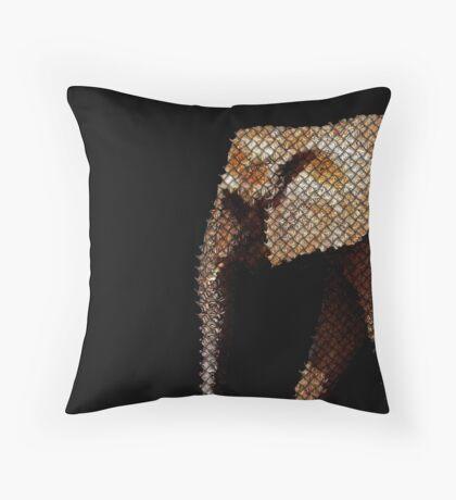 elephant net Throw Pillow