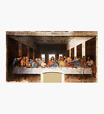 The Last Supper by Leonardo Da Vinci Photographic Print