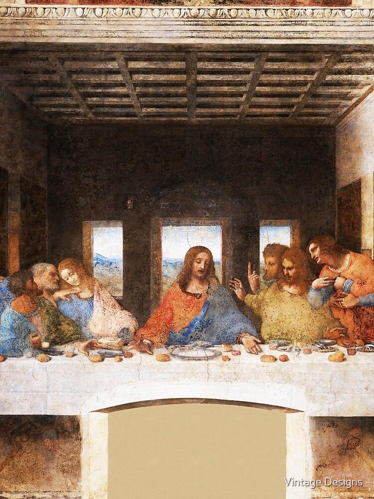 The Last Supper by Leonardo Da Vinci by Geekimpact