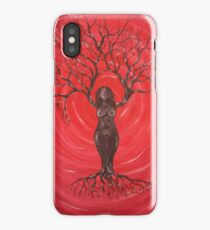 Tree Goddess iPhone Case