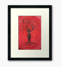 Tree Goddess Framed Print