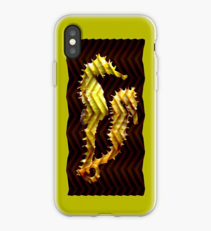 sea horsing iPhone Case