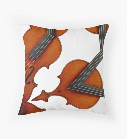 violin magic Throw Pillow