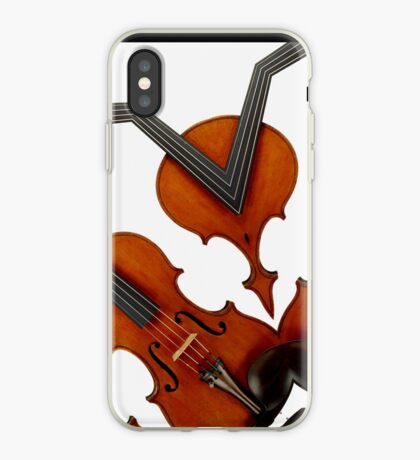 violin magic iPhone Case