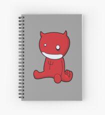 Cuaderno de espiral Satanás como un niño