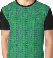 Neon Green Stonework Graphic T-Shirt