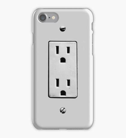 plug into me iPhone Case/Skin