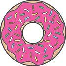 Strawberry Donut by DetourShirts